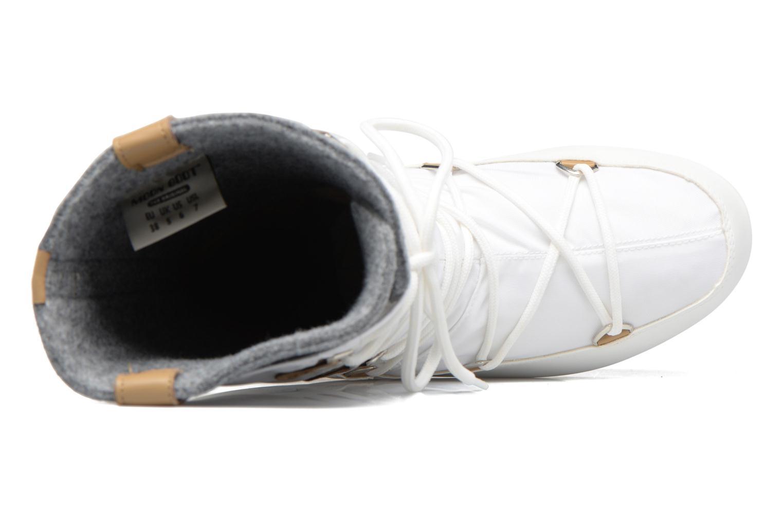 Bottines et boots Moon Boot Monaco Felt Noir vue gauche