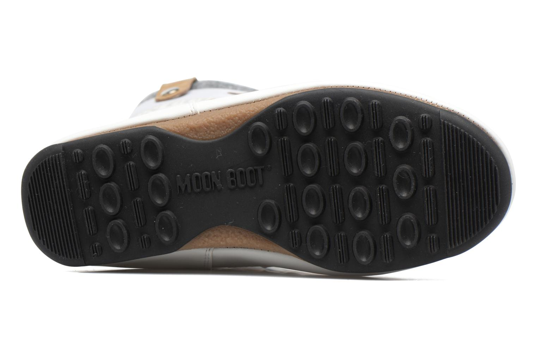 Bottines et boots Moon Boot Monaco Felt Noir vue haut