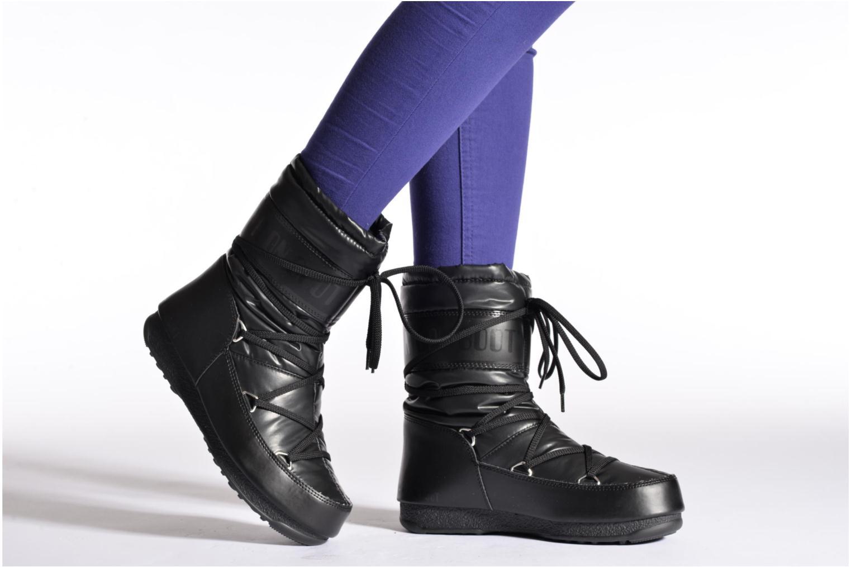 Bottines et boots Moon Boot We Soft Met Mid Noir vue bas / vue portée sac
