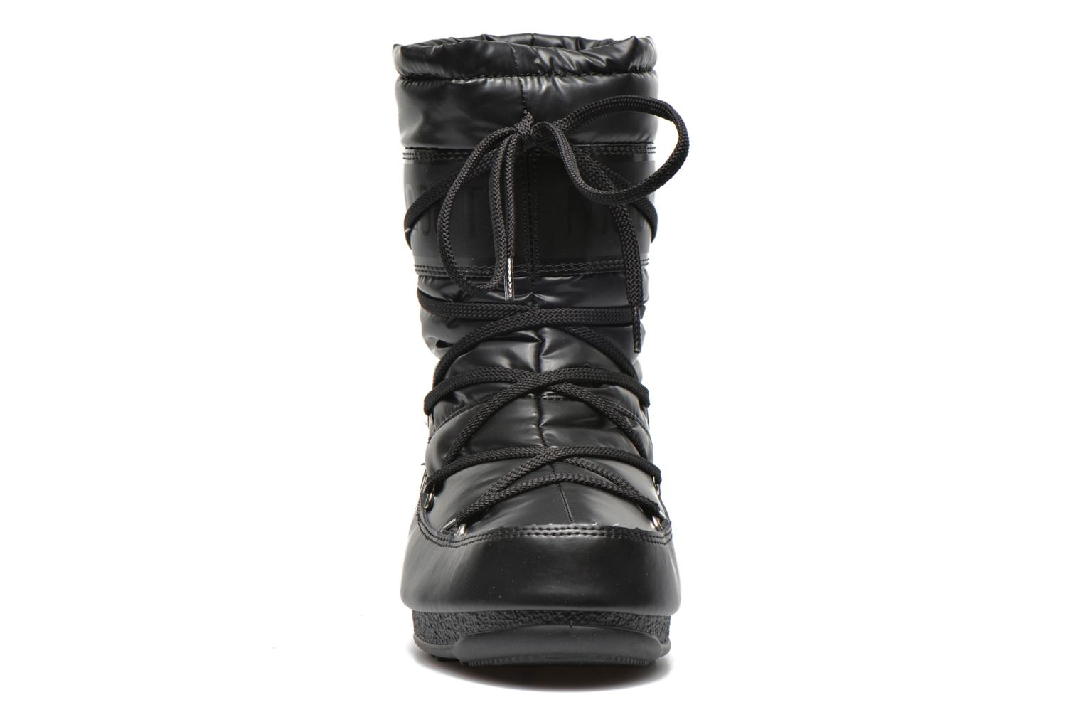 Boots en enkellaarsjes Moon Boot We Soft Met Mid Zwart model