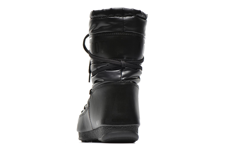 Bottines et boots Moon Boot We Soft Met Mid Noir vue droite
