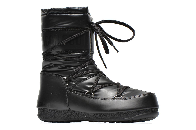Bottines et boots Moon Boot We Soft Met Mid Noir vue derrière