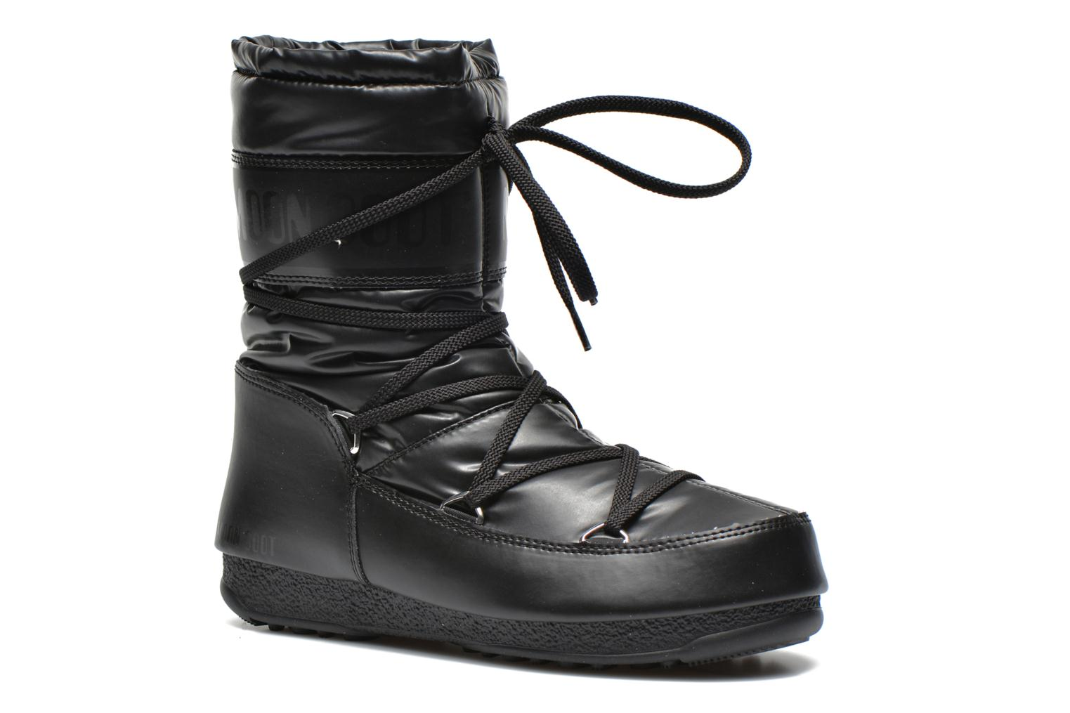 Boots en enkellaarsjes Moon Boot We Soft Met Mid Zwart detail
