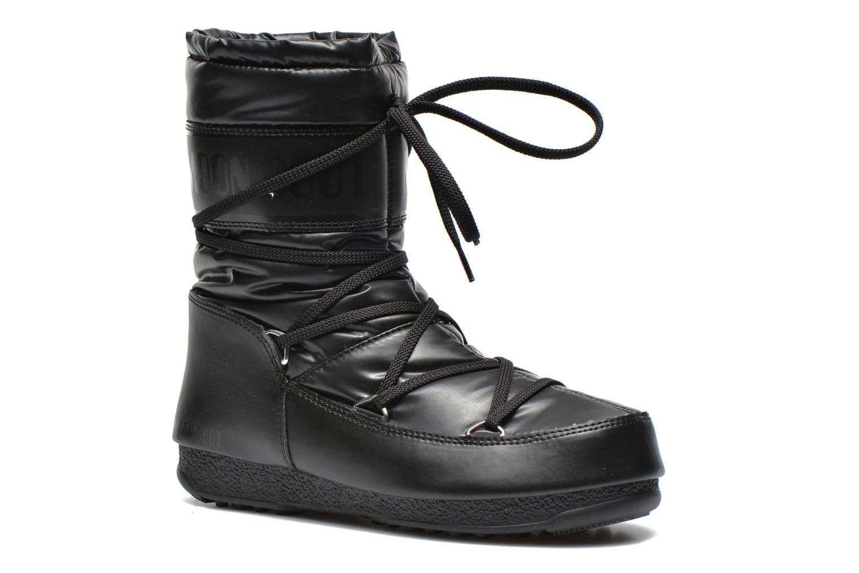Bottines et boots Moon Boot We Soft Met Mid Noir vue détail/paire