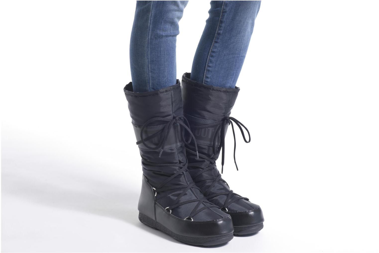 Sportschuhe Moon Boot Soft Shade grau ansicht von unten / tasche getragen