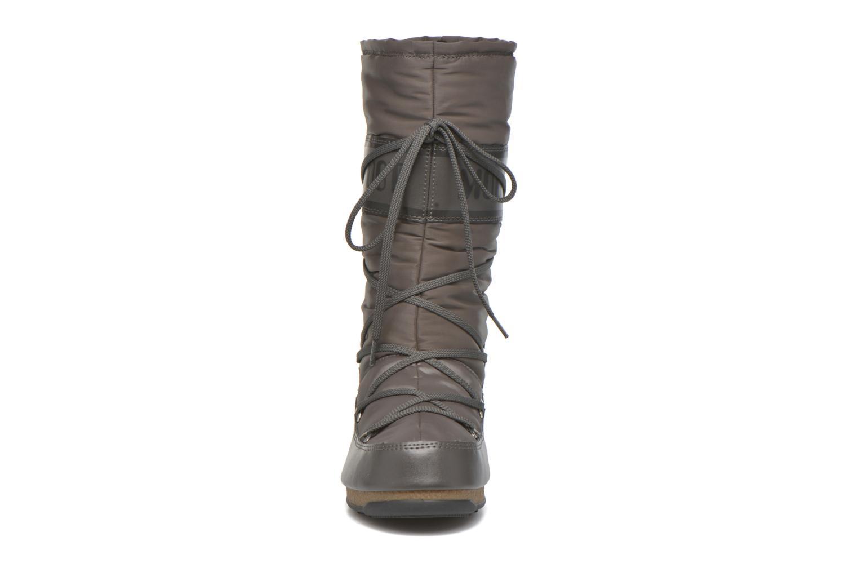 Sportschuhe Moon Boot Soft Shade grau schuhe getragen