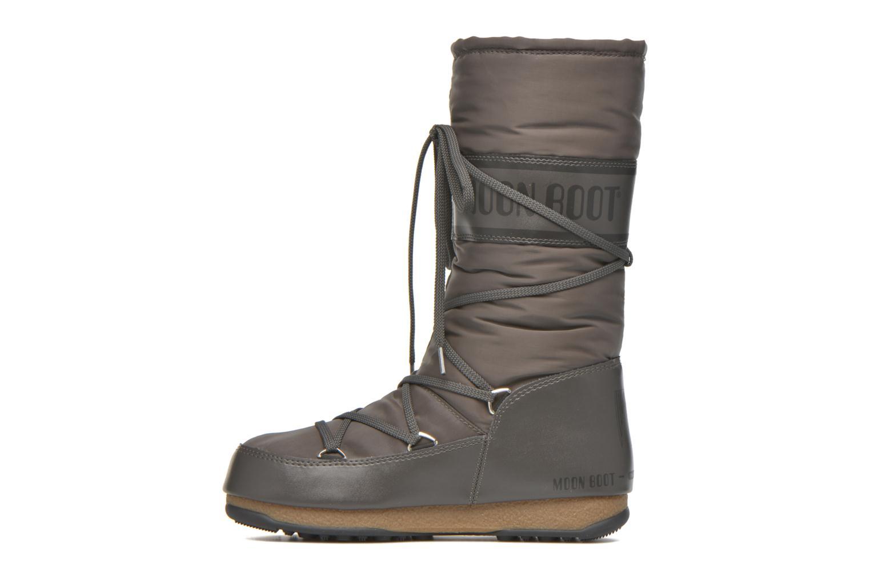 Sportschuhe Moon Boot Soft Shade grau ansicht von vorne