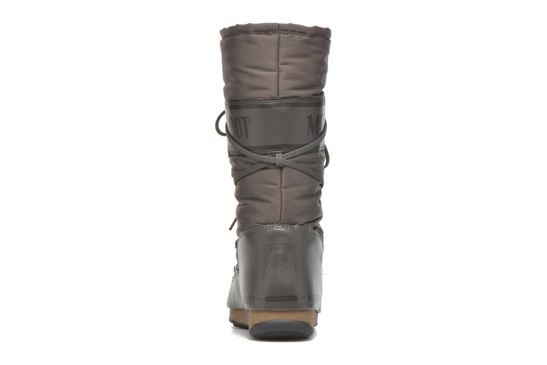 Sportschuhe Moon Boot Soft Shade grau ansicht von rechts