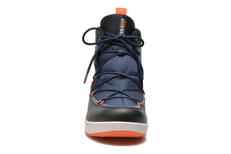Scarpe sportive Moon Boot Neil Azzurro modello indossato