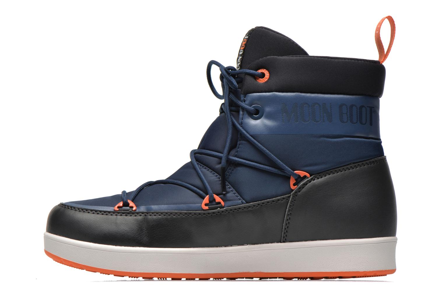 Sport shoes Moon Boot Neil Blue front view