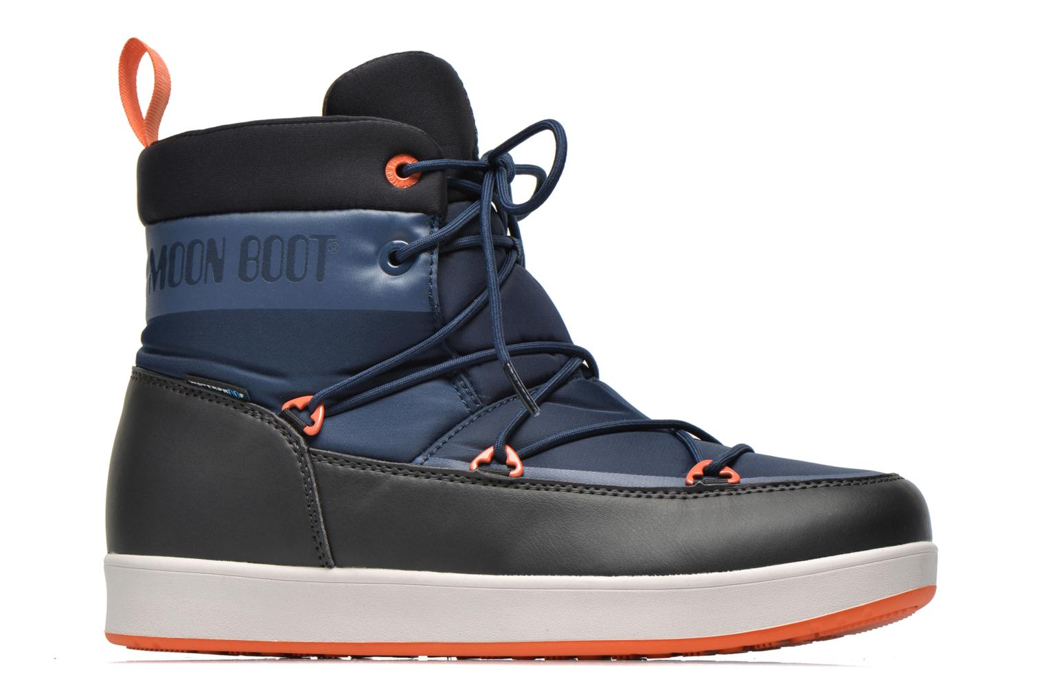 Sport shoes Moon Boot Neil Blue back view