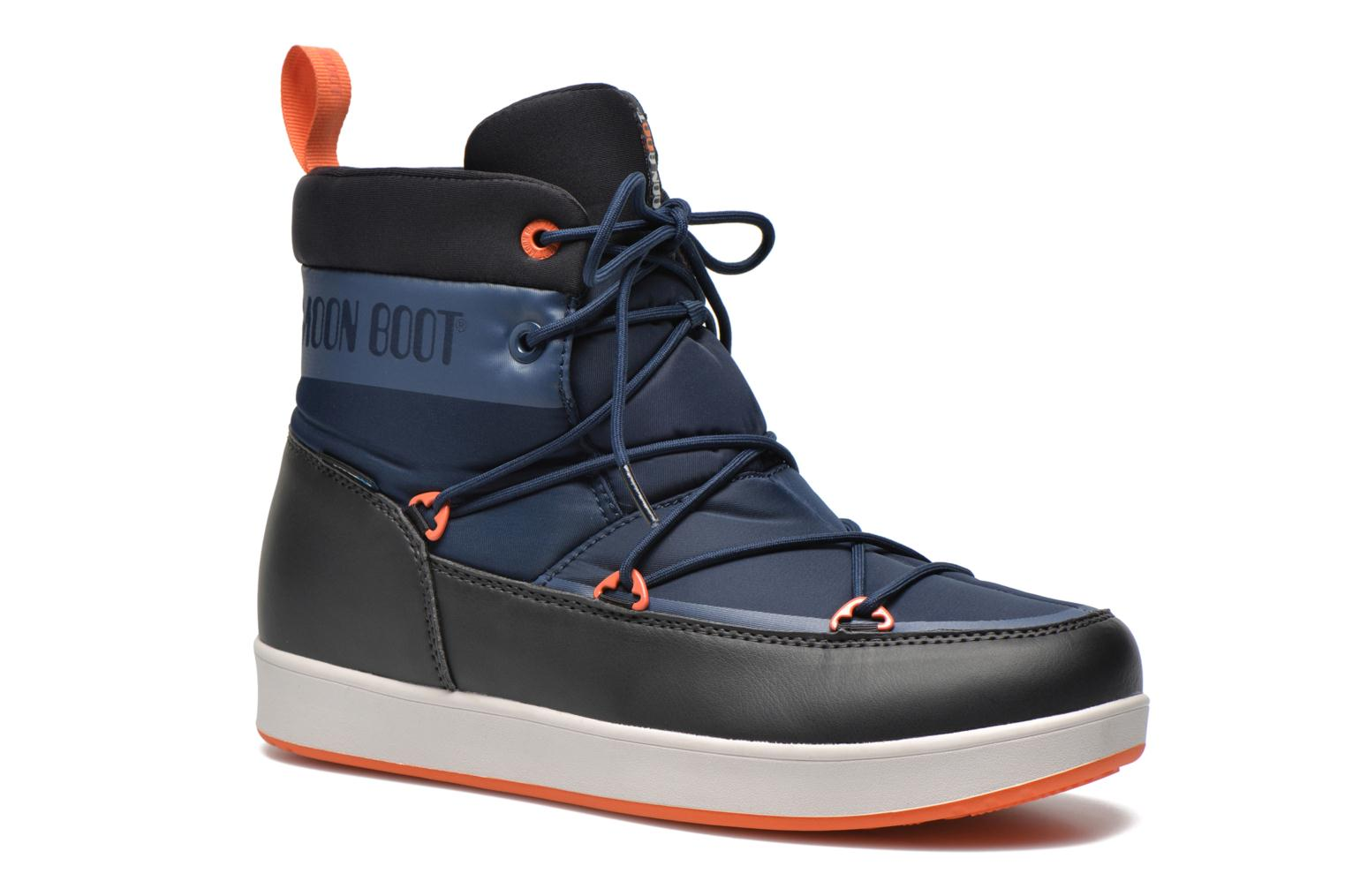 Sport shoes Moon Boot Neil Blue detailed view/ Pair view