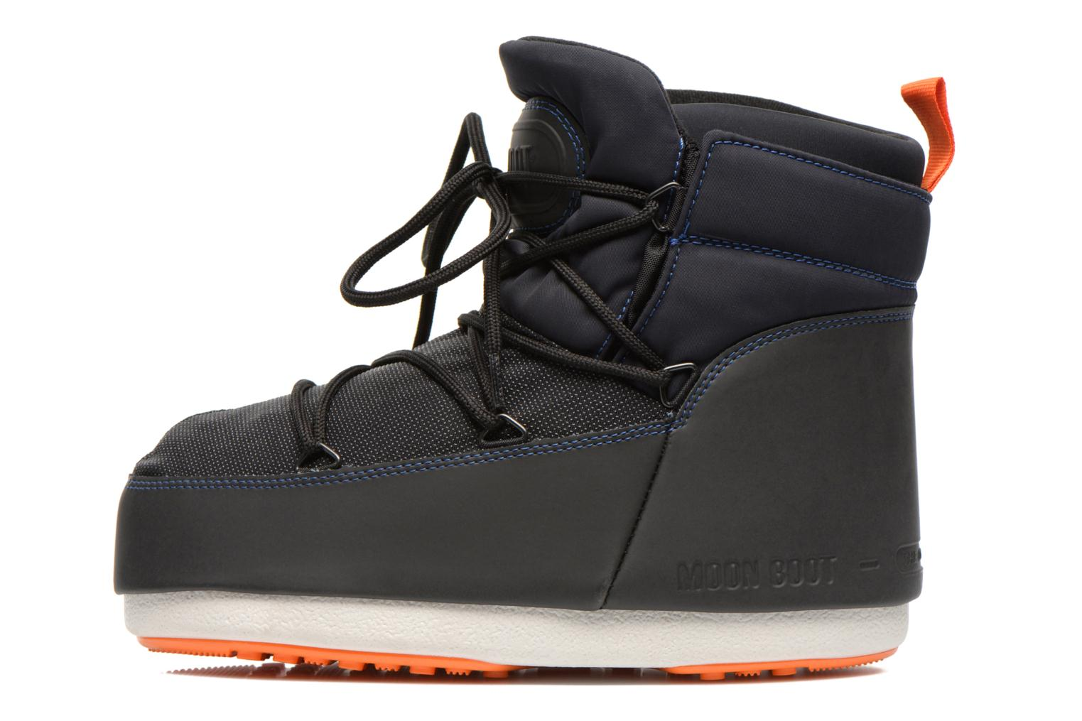 Ankle boots Moon Boot Buzz Tech Black front view