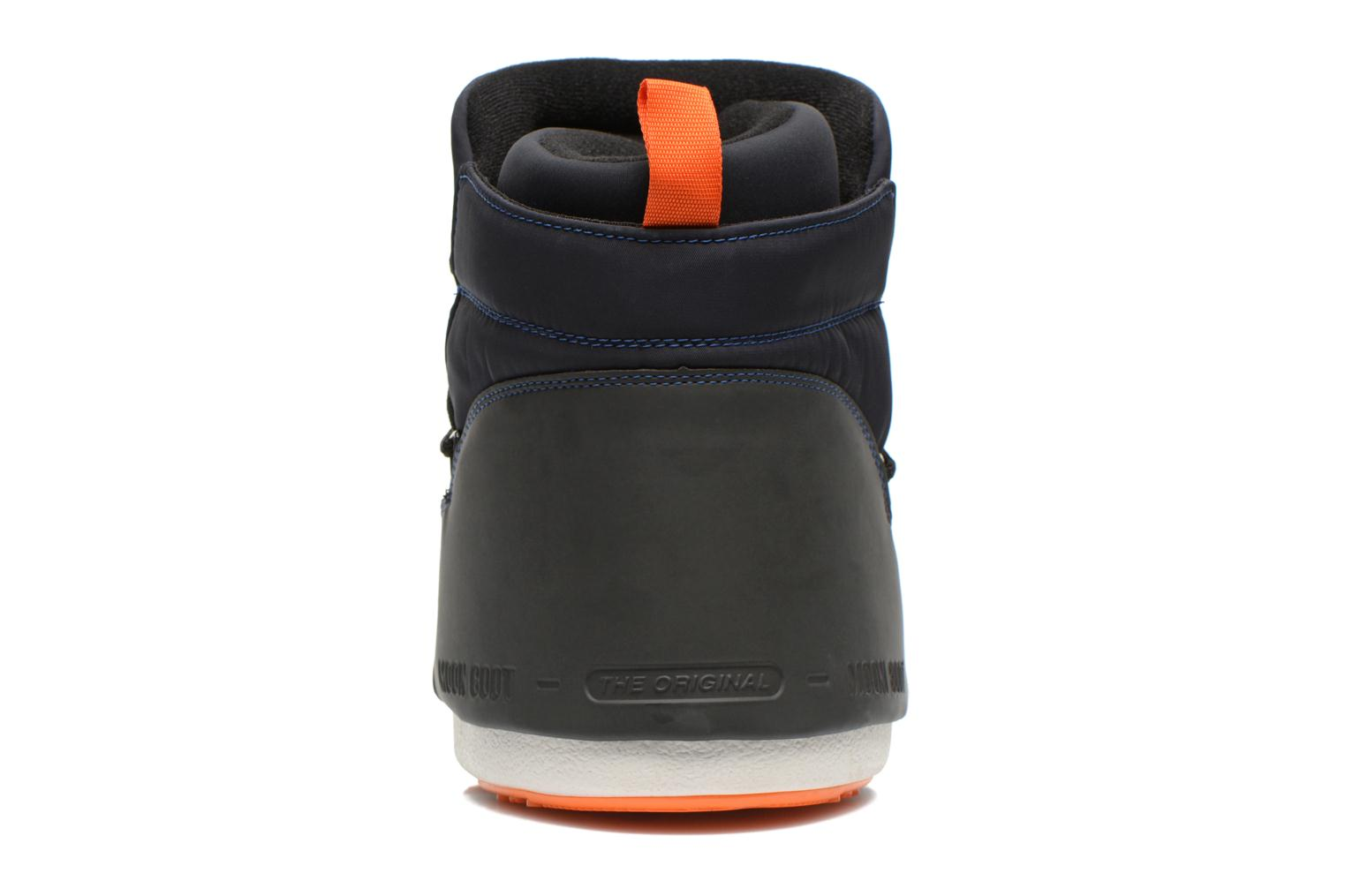 Ankle boots Moon Boot Buzz Tech Black view from the right