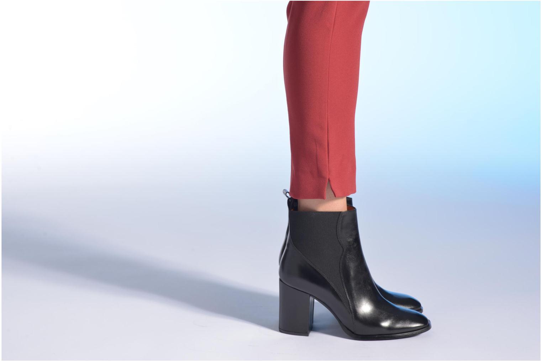 Stiefeletten & Boots Made by SARENZA Smoking Simone #6 schwarz ansicht von unten / tasche getragen