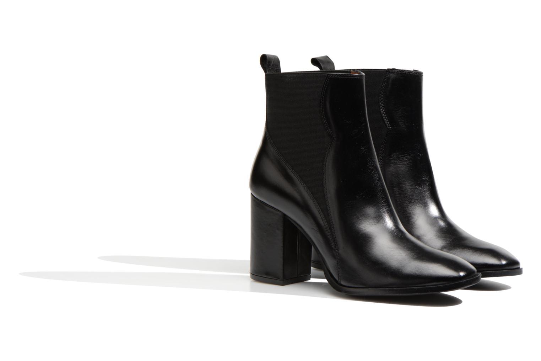 Stiefeletten & Boots Made by SARENZA Smoking Simone #6 schwarz ansicht von hinten