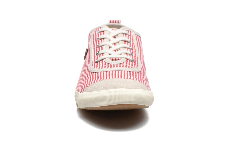 Sneakers Faguo Oak Suede M Rosso modello indossato