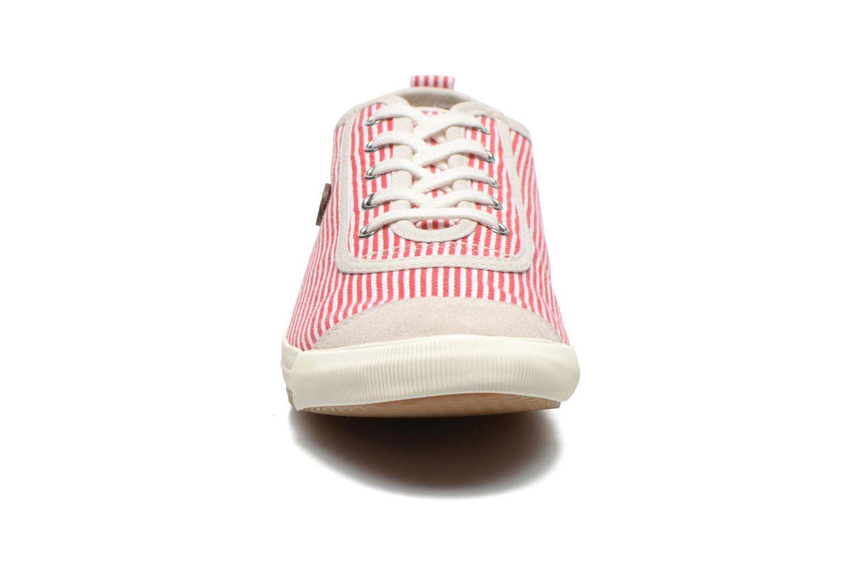 Baskets Faguo Oak Suede M Rouge vue portées chaussures