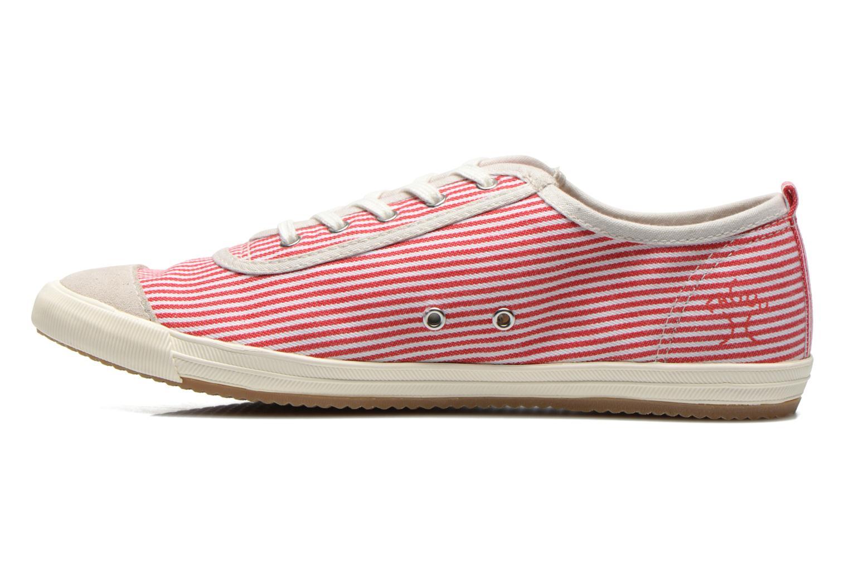 Sneaker Faguo Oak Suede M rot ansicht von vorne