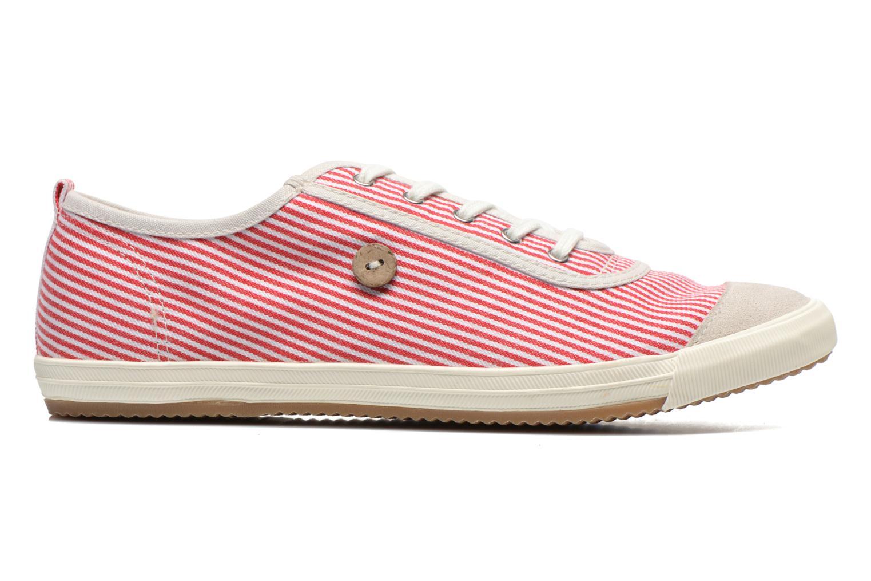 Sneaker Faguo Oak Suede M rot ansicht von hinten