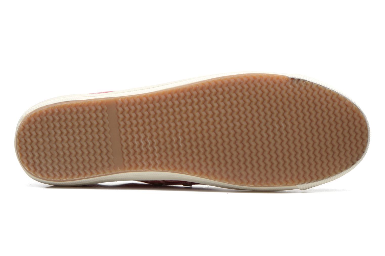 Sneaker Faguo Oak Suede M rot ansicht von oben
