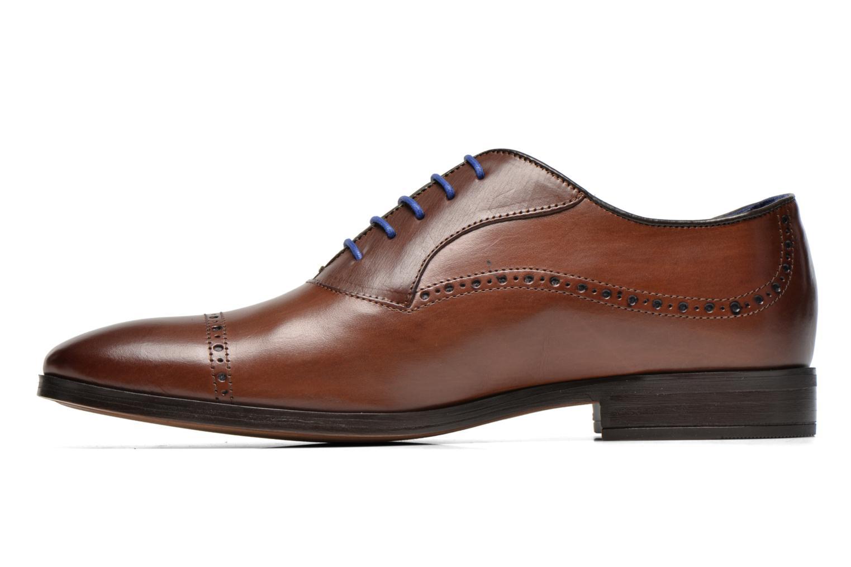 Chaussures à lacets Azzaro Depech Marron vue face