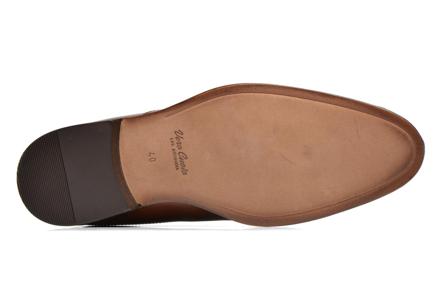 Lace-up shoes Azzaro Depech Brown view from above