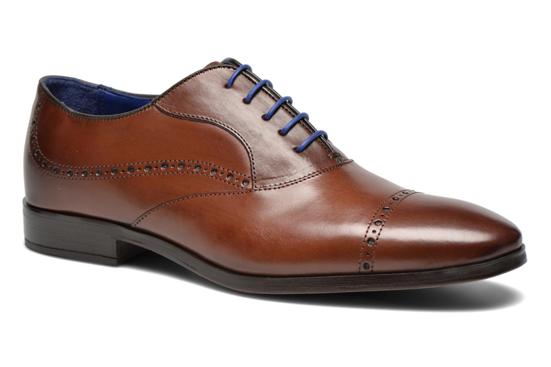 Chaussures à lacets Azzaro Depech Marron vue détail/paire