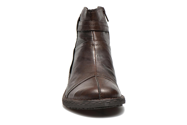 Bottines et boots Khrio Shadan Marron vue portées chaussures
