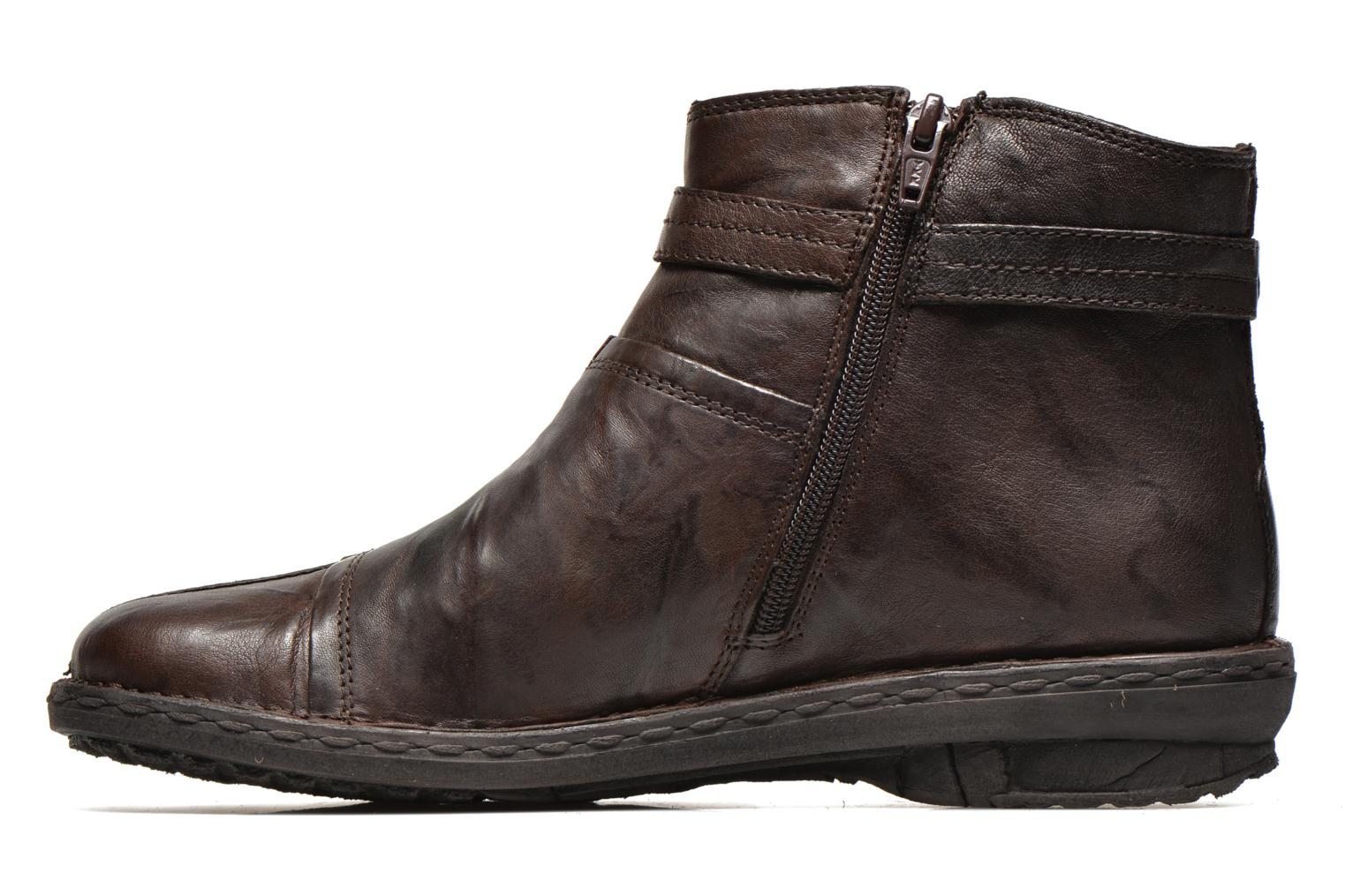 Ankle boots Khrio Shadan Brown front view