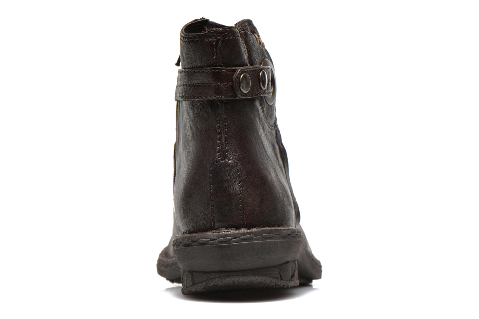 Ankle boots Khrio Shadan Brown view from the right