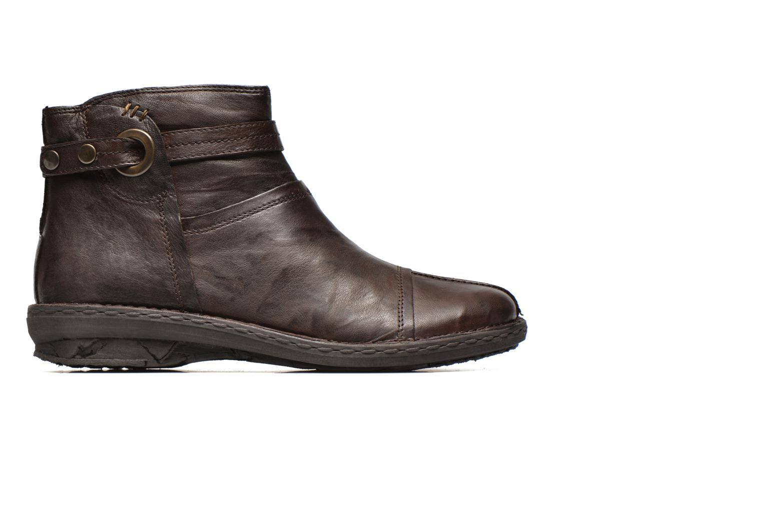 Ankle boots Khrio Shadan Brown back view