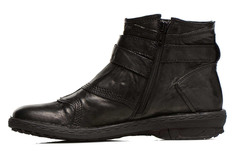 Bottines et boots Khrio Sabras Noir vue face