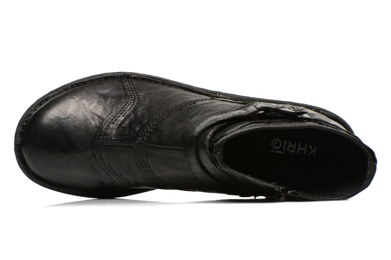 Bottines et boots Khrio Sabras Noir vue gauche