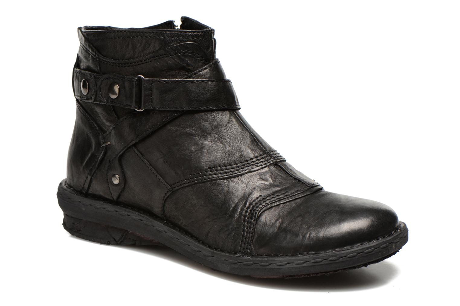 Marques Chaussure femme Khrio femme Sabras Rodeo nero
