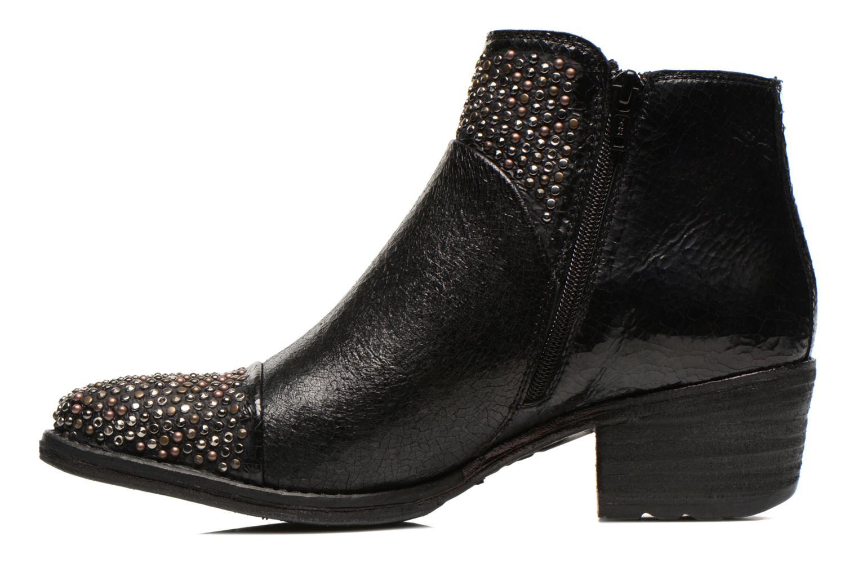 Bottines et boots Khrio Arcer Noir vue face