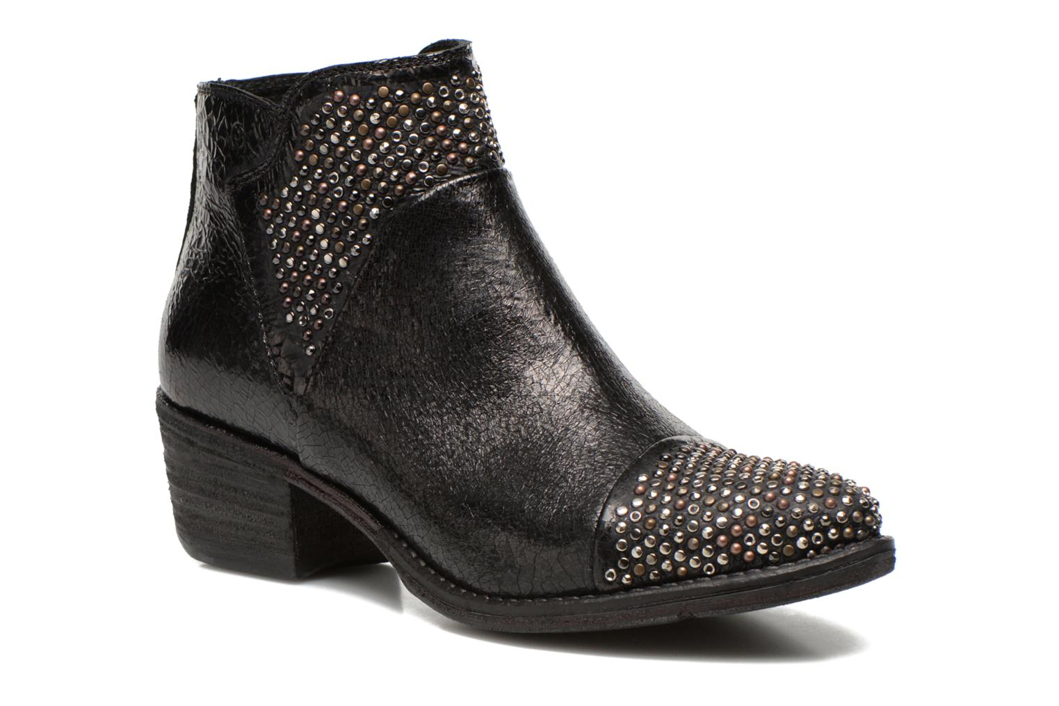 Ankle boots Khrio Arcer Black detailed view/ Pair view