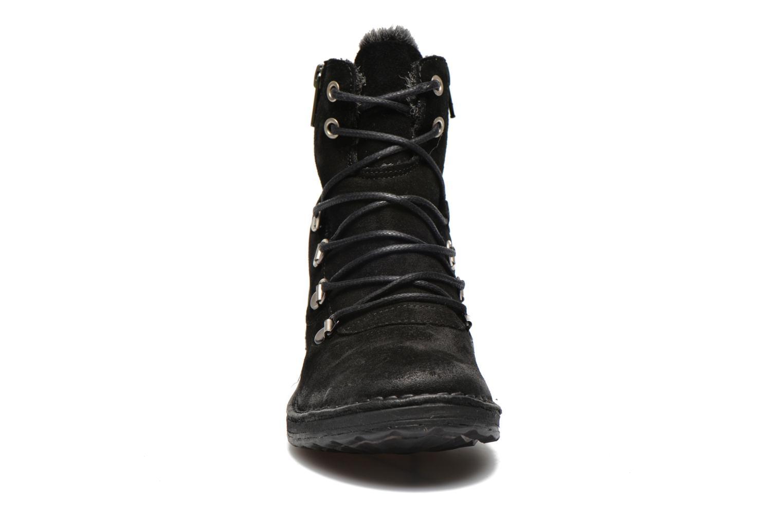 Ankle boots Khrio Varos Black model view