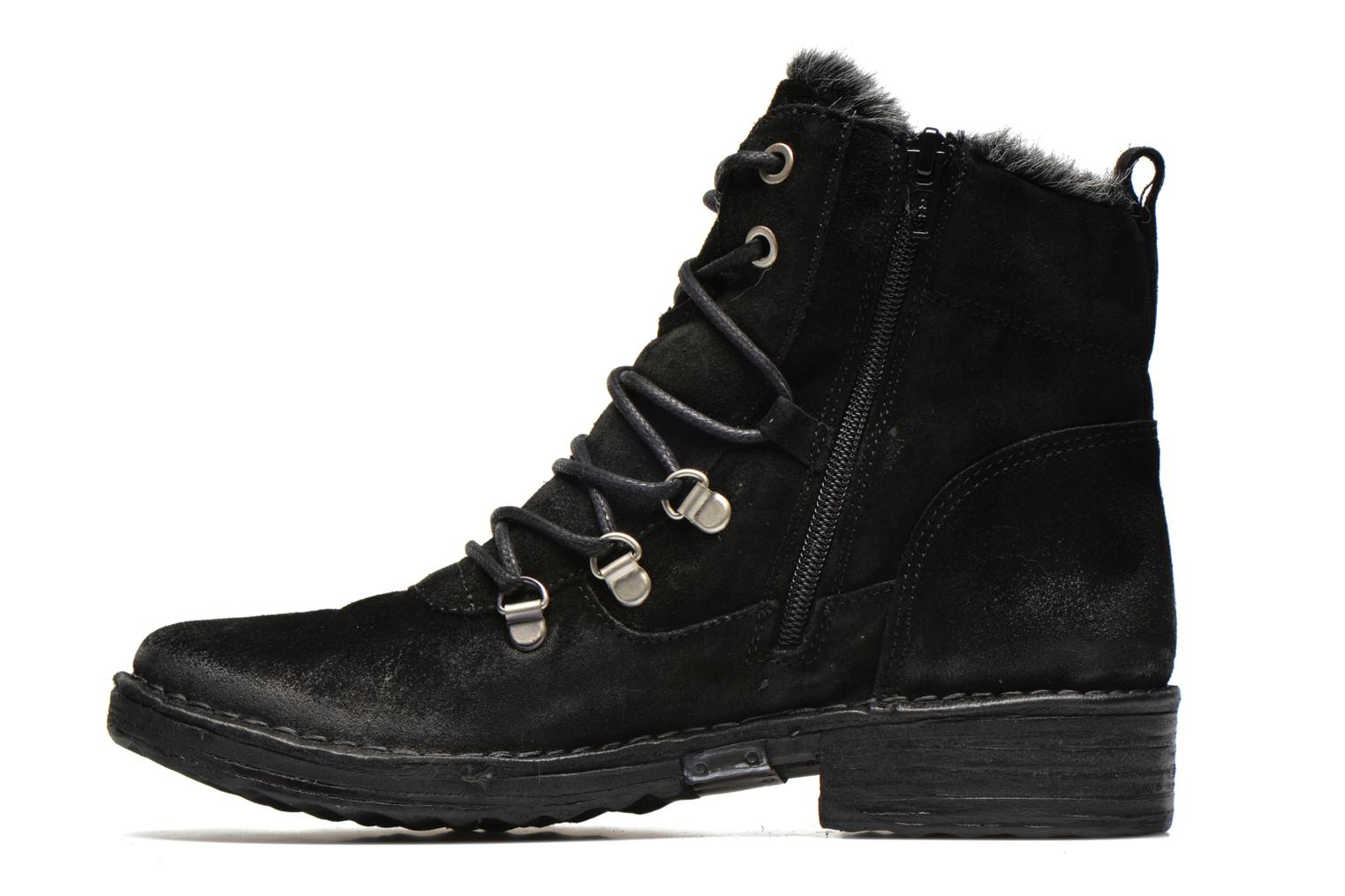 Ankle boots Khrio Varos Black front view