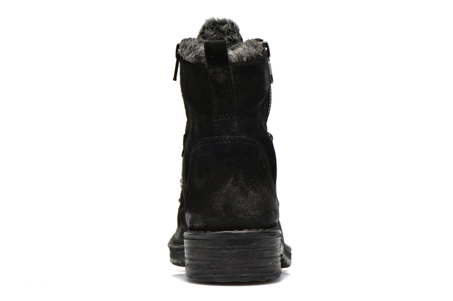 Ankle boots Khrio Varos Black view from the right