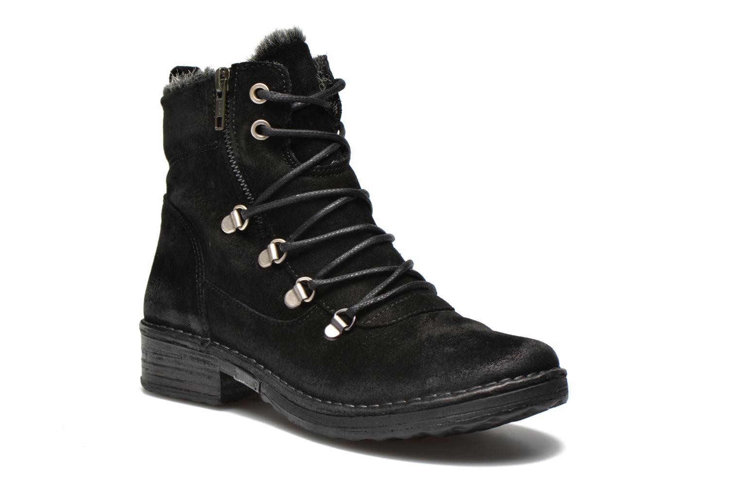 Ankle boots Khrio Varos Black detailed view/ Pair view