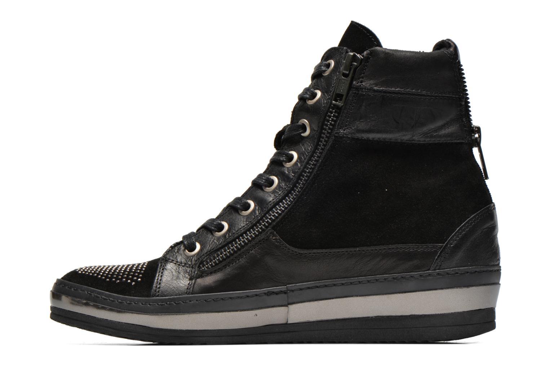 Sneaker Khrio Tanobe schwarz ansicht von vorne