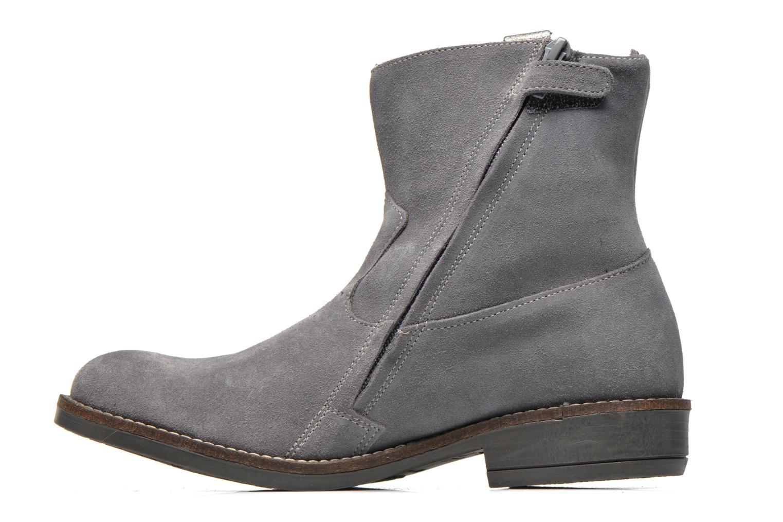 Bottines et boots Minibel Julie Gris vue face