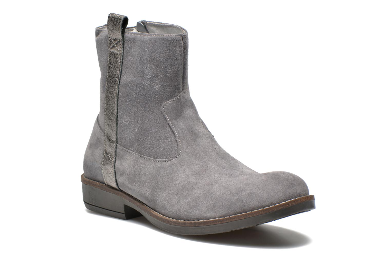 Bottines et boots Minibel Julie Gris vue détail/paire