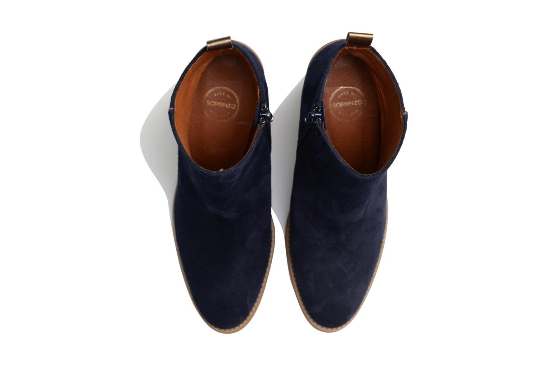 Stiefeletten & Boots Made by SARENZA Western Fever #5 blau schuhe getragen