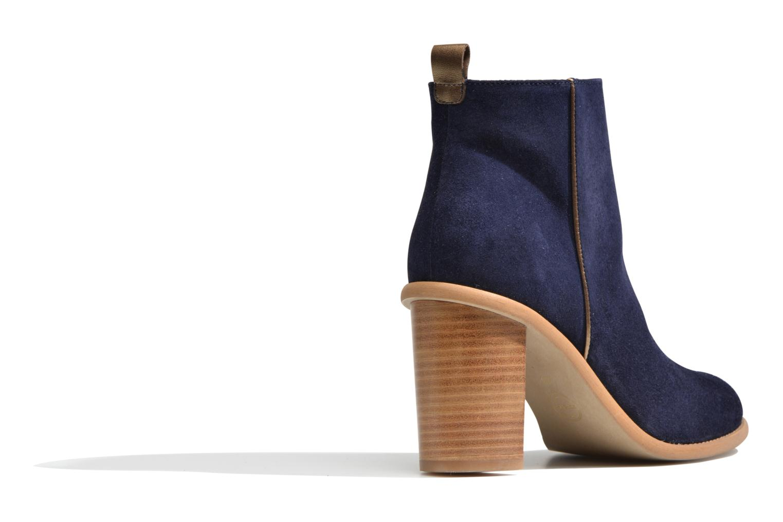 Boots en enkellaarsjes Made by SARENZA Western Fever #5 Blauw voorkant
