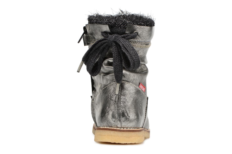 Bottines et boots Shoesme Sienna Argent vue droite