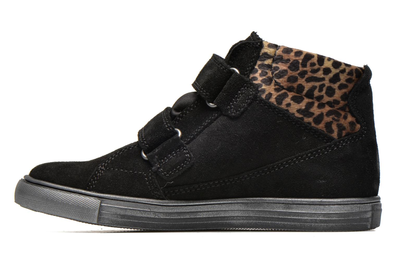 Velcro shoes Richter Fedora Black front view