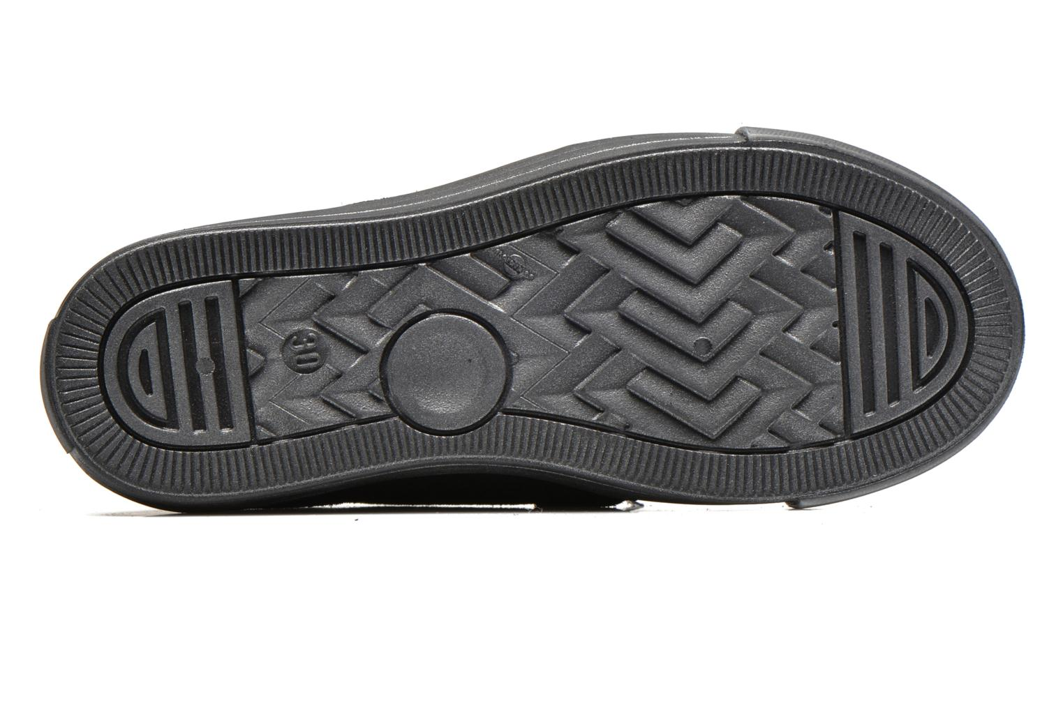 Velcro shoes Richter Fedora Black view from above