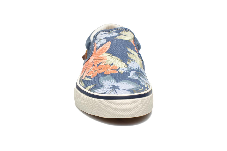 Baskets Pepe jeans Harry Slip On Bleu vue portées chaussures